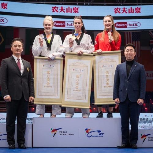 Aleksandra Kowalczuk  zdobyła  brązowy medal Grand Slam w Chinach!