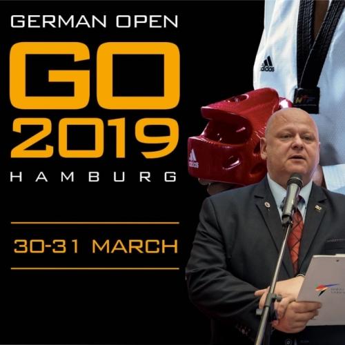 Pan Artur Chmielarz Delegatem Technicznym World Taekwondo na German Open 2019