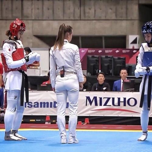 Agnieszka Scheffler na Test Event przed Tokio 2020