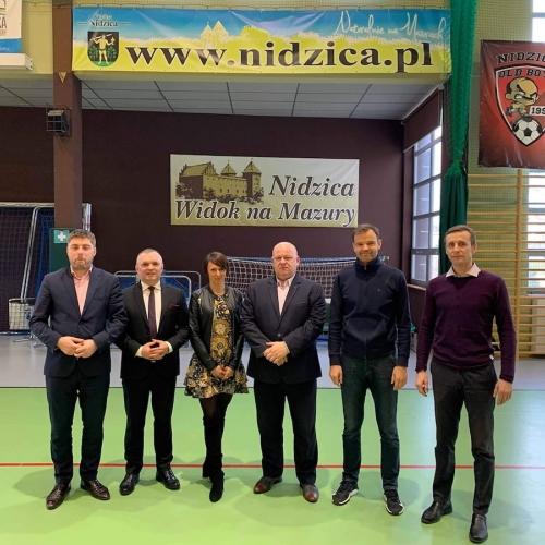 Współpraca PZTO z miastem Nidzica w latach 2020 - 2024