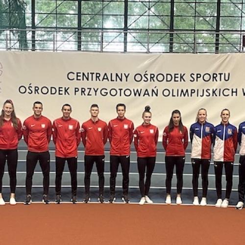 Trwa zgrupowanie Kadry Narodowej Seniorów w COS Spała 13-24.09.2021.